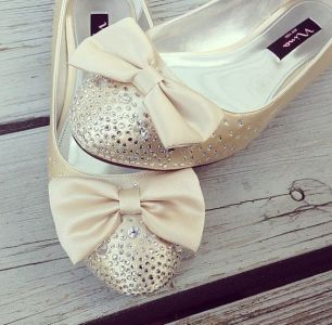 BowWeddingShoes