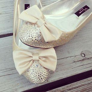 BowWeddingShoes