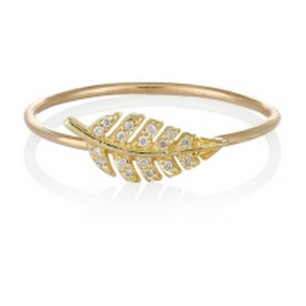 Jennifer Meyer Diamond & Gold Leaf