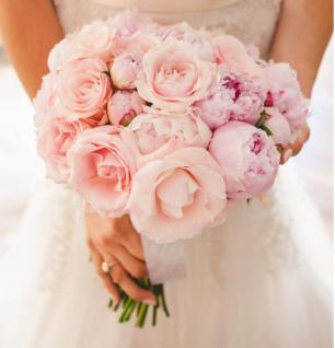 Flowers wedding ring