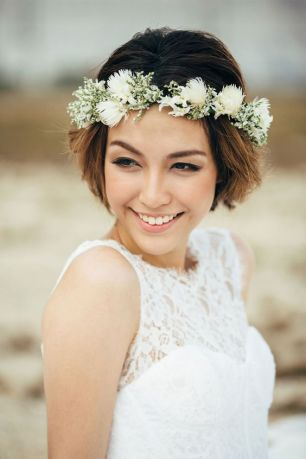 Short hair bride06