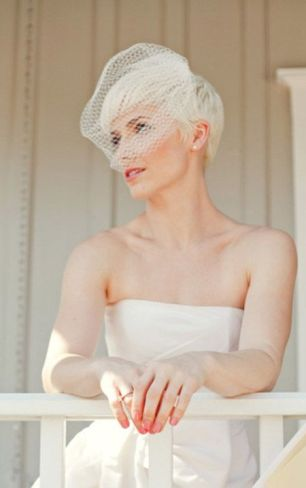 Short hair bride16