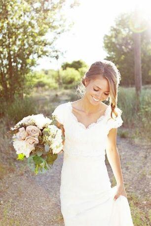 Short hair bride17