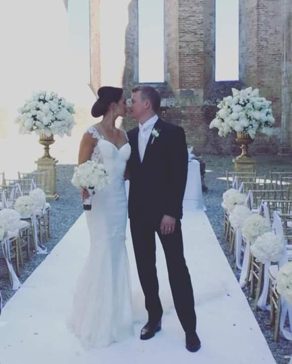 Kimi Räikkönen wedding