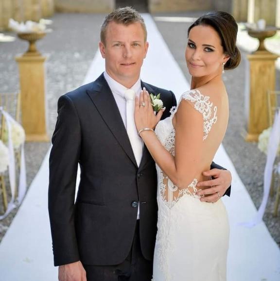 Kimi Räikkönen wedding3