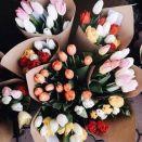 Tulipán csokor Tulips