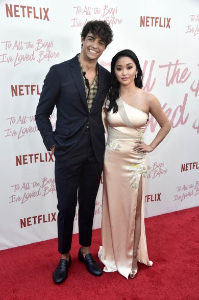 "CULVER CITY, CA - AUGUST 16: Lana Condor, Noah Centineo attend the Screening Of Netflix's ""To All The Boys I've Loved Before"" at Arclight Cinemas Culver City on August 16, 2018 in Culver City, California. (Photo by Frazer Harrison/Getty Images)"